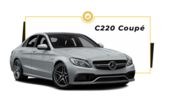 alquiler Mercedes C220 Coupe